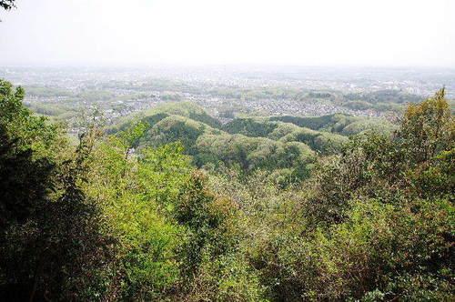 八王子城からの眺め150418.JPG