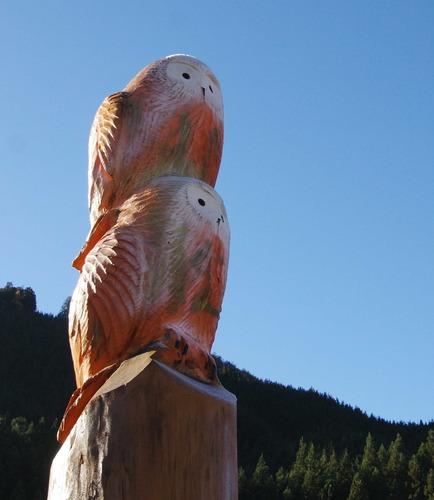 木彫りのフクロウ171124.JPG